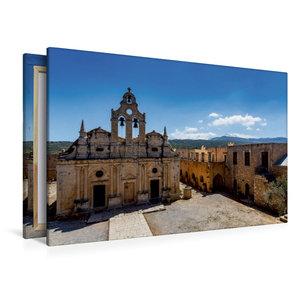 Premium Textil-Leinwand 120 cm x 80 cm quer Arkadi-Kloster das b