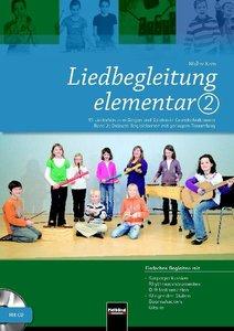 Liedbegleitung elementar 2. Heft und DVD