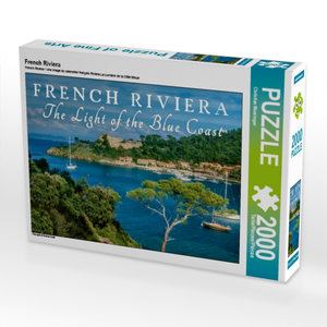 French Riviera 2000 Teile Puzzle quer