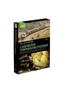 Legendäre Eisenbahnstrecken, 2 DVDs
