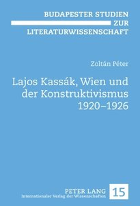 Lajos Kassák, Wien und der Konstruktivismus 1920-1926