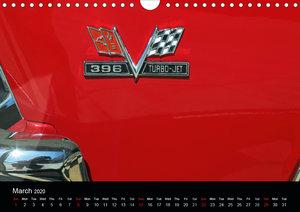Classic Cars (UK-Version) (Wall Calendar 2020 DIN A4 Landscape)