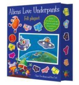 Aliens Love Underpants! Fuzzy Felt