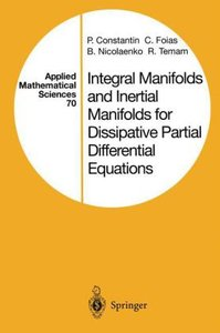 Integral Manifolds and Inertial Manifolds for Dissipative Partia