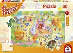 Sorgenfresser. Manege frei! Puzzle 60 Teile (inkl. Poster)