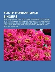 South Korean male singers