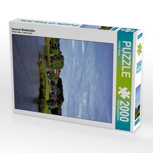 Uesener Bootshafen 2000 Teile Puzzle hoch
