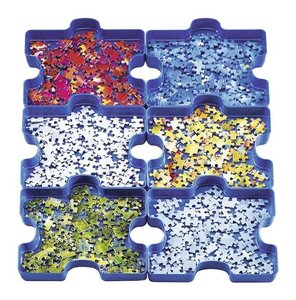 Sort Your Puzzle. 6 Sortierschalen