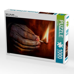 light in the dark 1000 Teile Puzzle quer