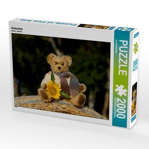 Herbstlich 2000 Teile Puzzle quer
