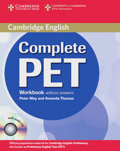 Complete PET. Workbook with Audio-CD