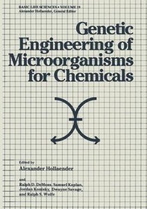 Genetic Engineering of Microorganisms for Chemicals