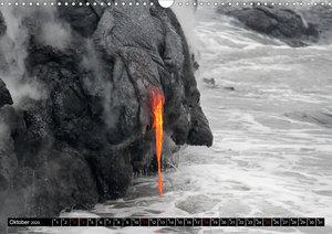 Hawaiian Lava - Die Schönheit von Feuergöttin Pele (Wandkalender