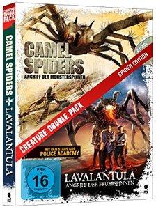 Spider Edition: Camel Spiders & Lavalantula, 1 DVD
