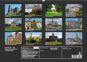 Schlösser- und Burgenromantik in Deutschland (Wandkalender 2019