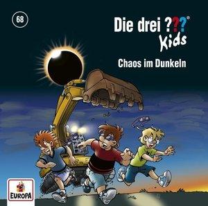 Die drei ??? Kids 68: Chaos im Dunkeln, 1 Audio-CD