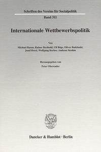 Internationale Wettbewerbspolitk