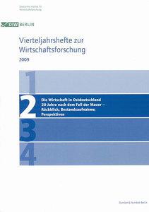 Vierteljahrshefte zur Wirtschaftsforschung 2009/2