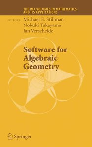 Software for Algebraic Geometry