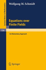 Equations over Finite Fields