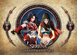 Asmodee FFGD1315 - Descent 2. Edition: Serena Hauptmann-Set, Erw
