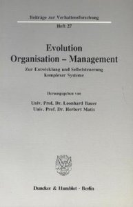 Evolution - Organisation - Management