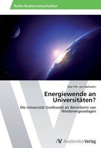 Energiewende an Universitäten?