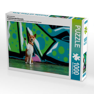 CALVENDO Puzzle Faszinierende Basenjis 1000 Teile Lege-Größe 64