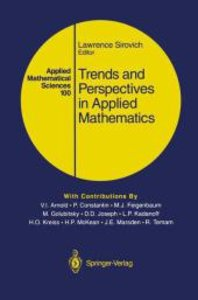 Trends and Perspectives in Applied Mathematics