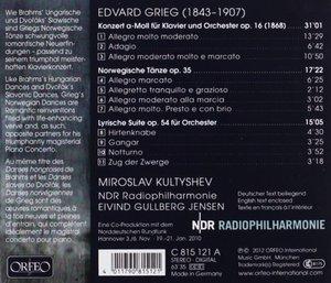 Klavierkonzert; Norwegische Tänze; Lyrische Suite
