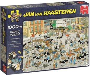 Puzzel Jan Van Haasteren De Veemarkt 1000 Stukjes