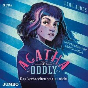 Agatha Oddly - Das Verbrechen wartet nicht, 3 Audio-CDs
