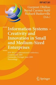 Information Systems -- Creativity and Innovation in Small and Me