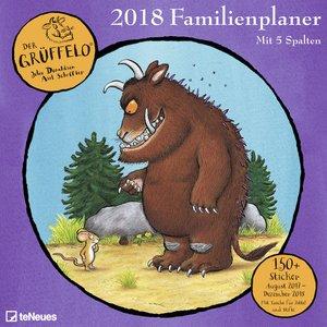 Der Grüffelo Familienplaner 2018