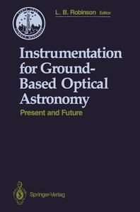 Instrumentation for Ground-Based Optical Astronomy