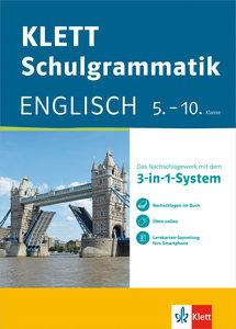 Klett-Schulgrammatik. Englisch 5.-10. Klasse mit Online-Übungen