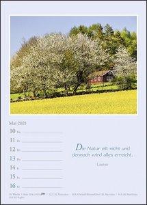 Kleine Ruhepausen Kalender 2021