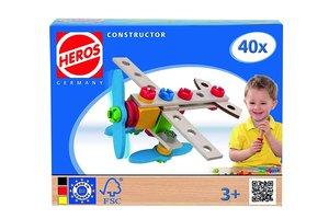 Heros Constructor, Flugzeug