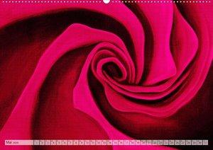 Rosenpower (Wandkalender 2020 DIN A2 quer)