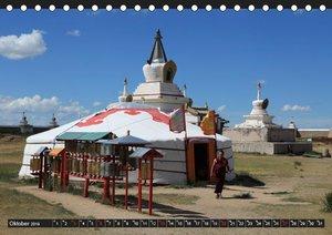 Die Mongolei das Land des Dschingis Khan (Tischkalender 2019 DIN
