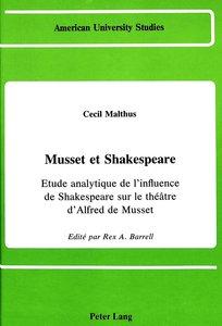 Musset et Shakespeare