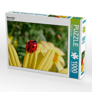 Marienkäfer 1000 Teile Puzzle quer