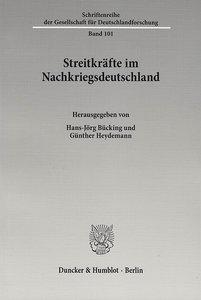 Streitkräfte im Nachkriegsdeutschland