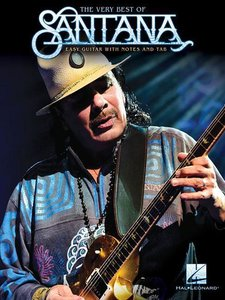 The Very Best Of Santana (Easy Guitar Book)