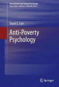 Anti-Poverty Psychology