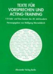 Texte für Vorsprechen und Acting-Training