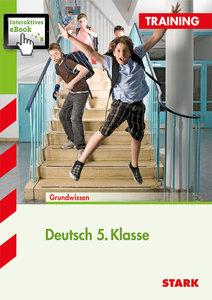 Training Deutsch 5. Klasse Realschule mit interaktivem eBook