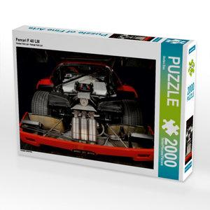 Ferrari F 40 LM 2000 Teile Puzzle quer