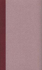 Sämtliche Werke in zwei Bänden