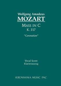 Mass in C major, K. 317 'Coronation' - Vocal score